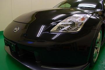 日産 フェアレディZバージョンニスモ(Z33)ガラスコーティング 福岡市在住のT様