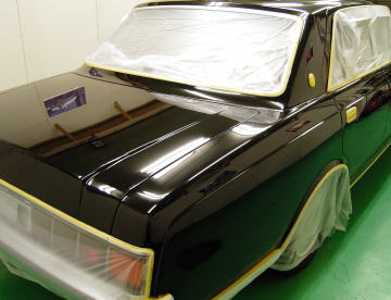 トヨタ センチュリー ガラスコーティング