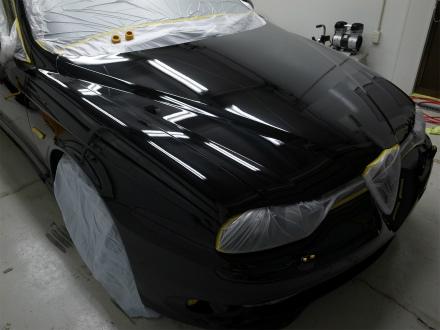 アルファロメオ 156SW GTA ガラスボディーコーティング