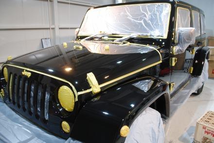 Jeep Wrangler unlimited ジープ フルコーティング